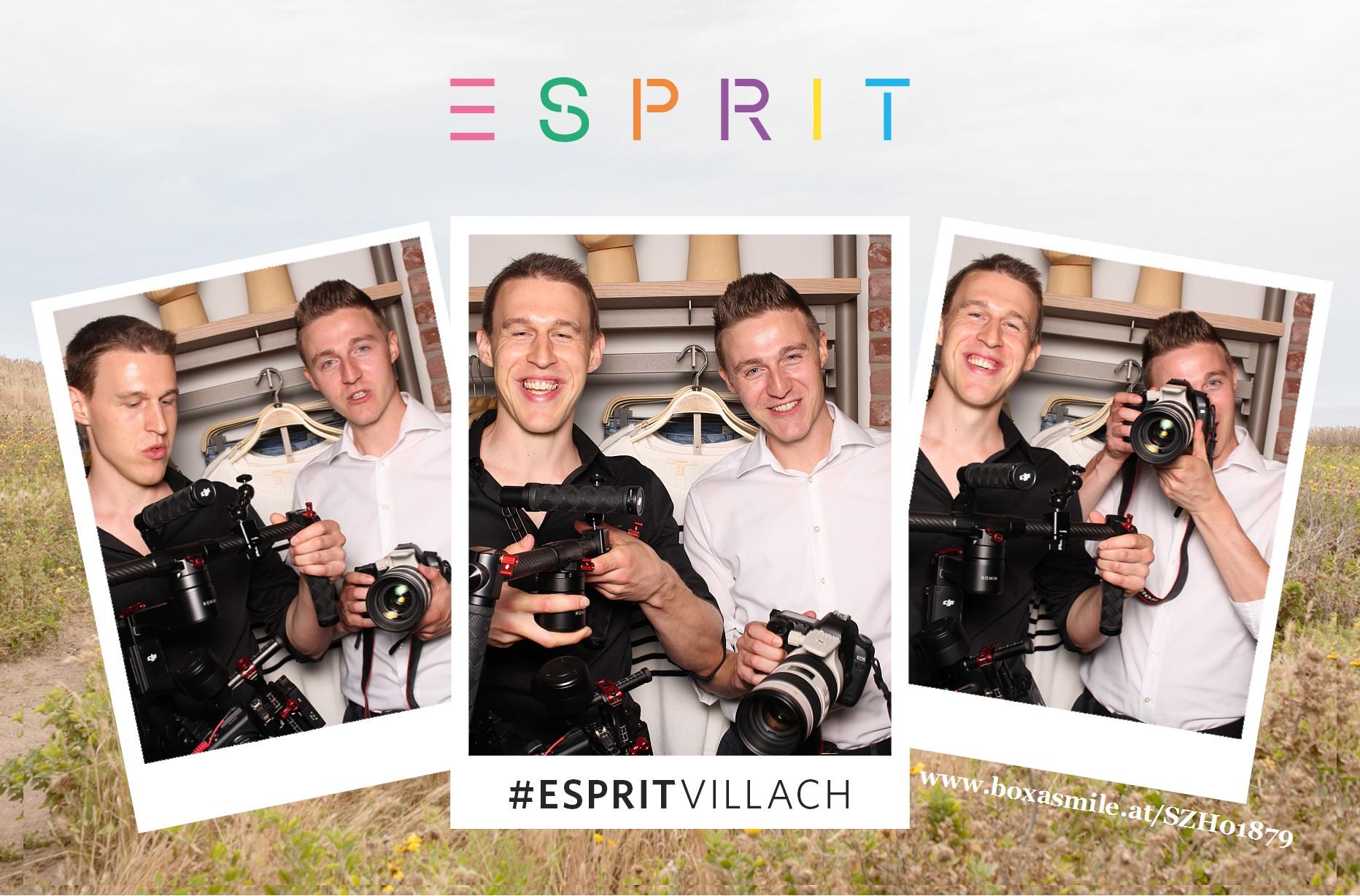 Sebastian Proprenter und Florian Proprenter bei Esprit Villach im Atrio Video und Foto Marketing