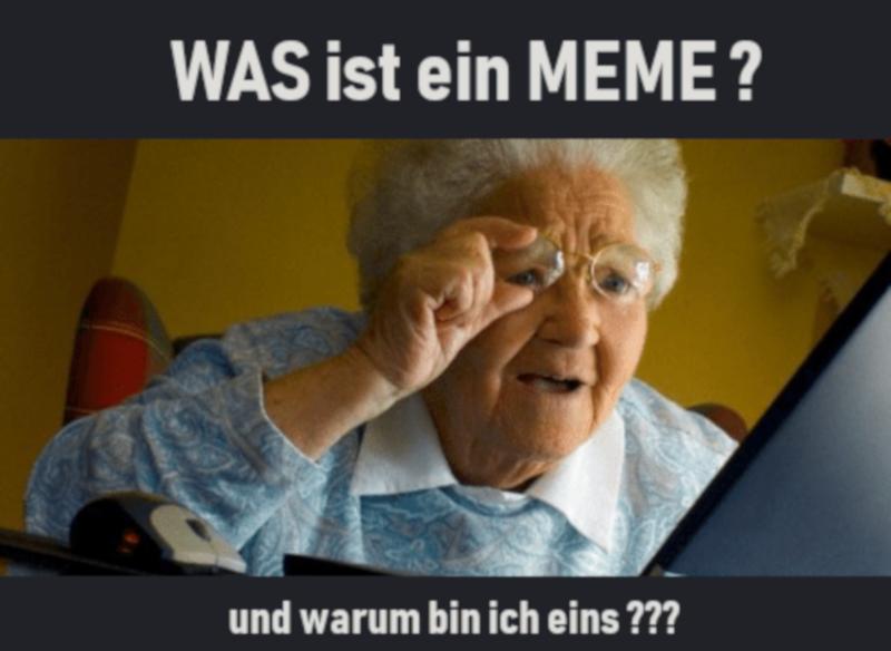 Was ist ein Meme? Begriff Meme