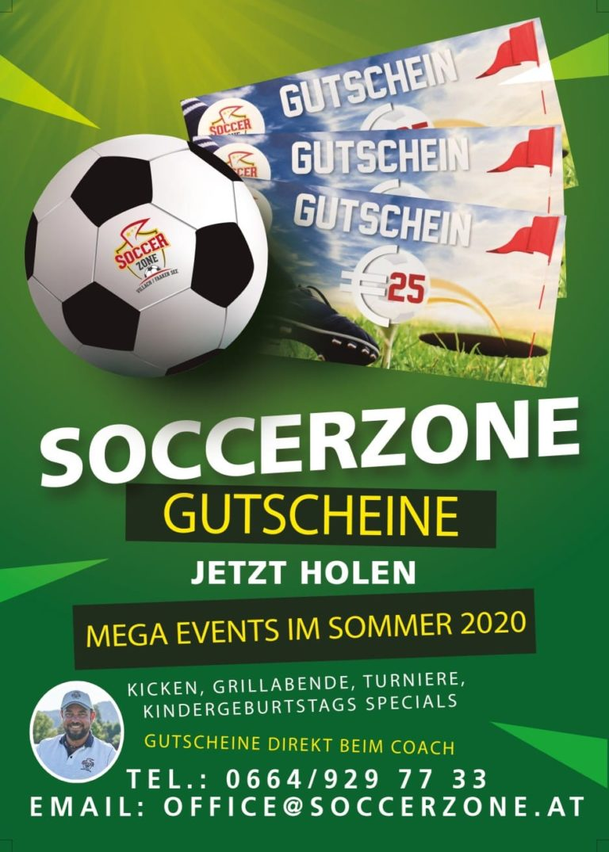 Soccerzone Villach Gutschein