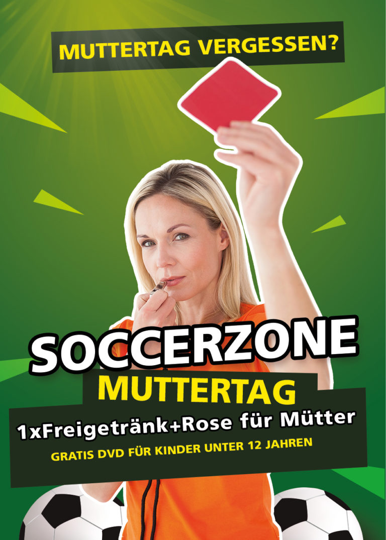 Soccerzone Villach Muttertag 2020