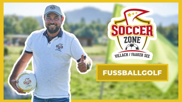 Soccerzone Fussballgolf Thumbnail für Youtube