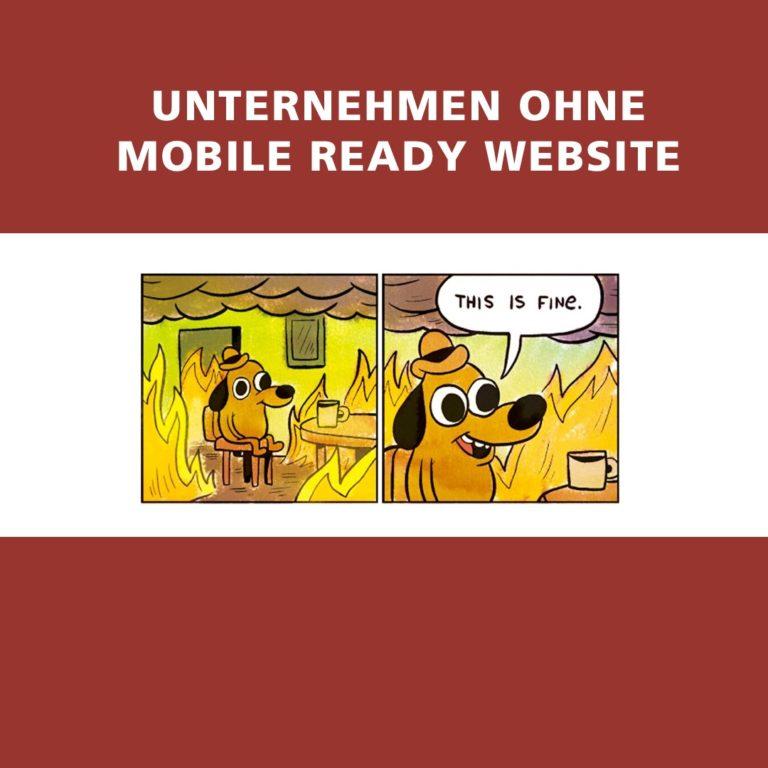 Mobile First sollte keine Meme für Webmaster sein