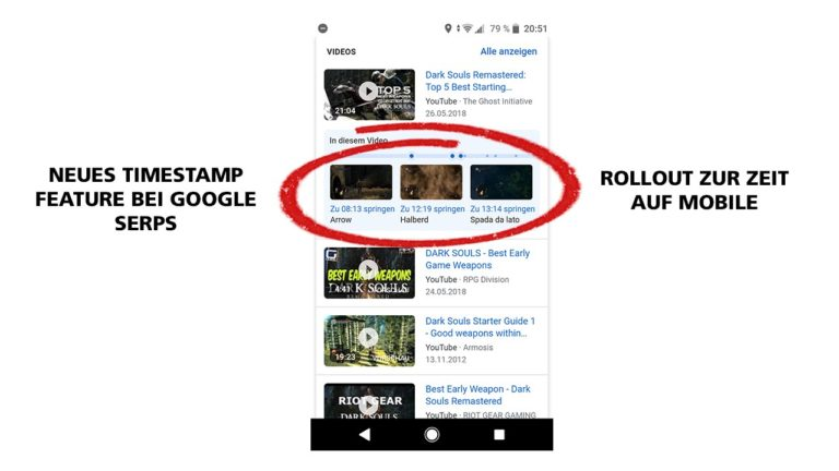 Timestamps Google Serps Video Seo