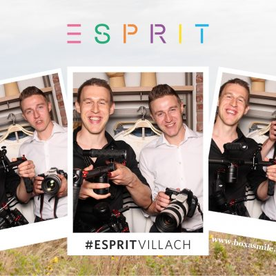 Sebastian Proprenter und Florian Proprenter bei Esprit Villach im Atrio Video und Foto Marketing